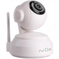 Внутренняя WiFi поворотная IP камера видеонаблюдения 1 MPX, P2P, Micro SD