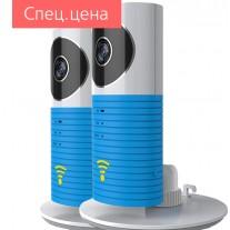 Комплект из 2-х беспроводных видеокамер Clever Dog (Верный Пес) с функцией Wi-Fi, P2P